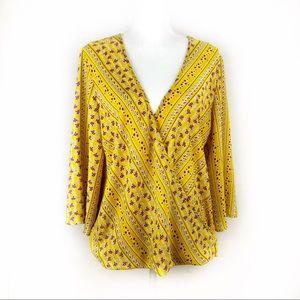 Anthropologie W5 blouse sz L